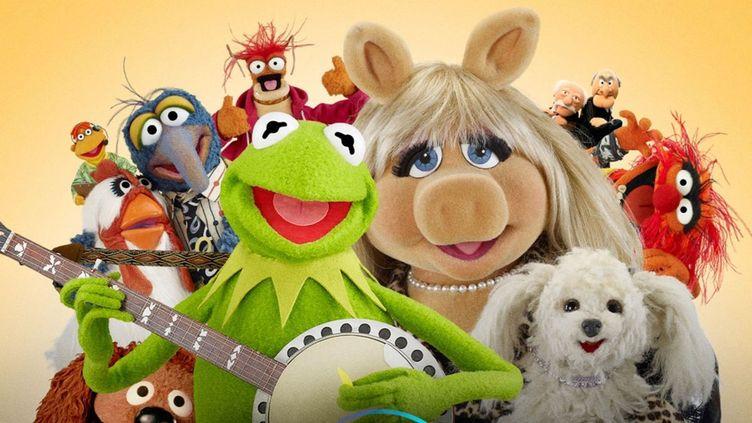 """""""Le Nouveau Muppet Show"""" de Disney+ : Kermit et miss Peggy, en vedette. (Disney+)"""