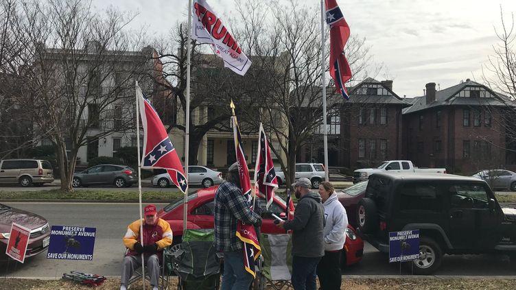 Dans les rues de Richmond, nostalgiques du passé confédéré de l'Etat de Virginie (GRÉGORY PHILIPPS / RADIO FRANCE)