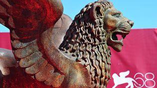 Le Lion d'Or, symbole du Festival Internationale du Film de Venise. (ALBERTO PIZZOLI / AFP)