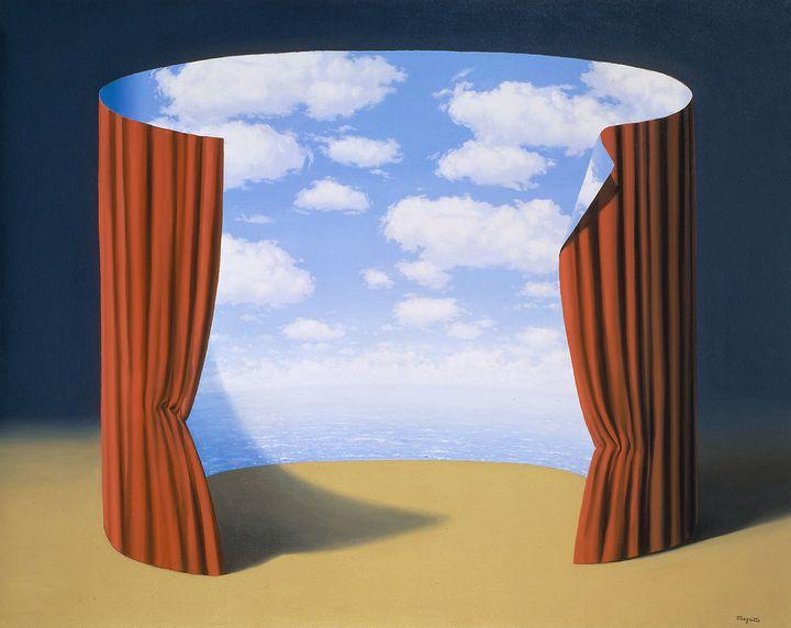 """René Magritte, """"Les mémoires d'un saint"""", 1960, The Menil Collection, Houston  (ADAGP, Paris 2016)"""