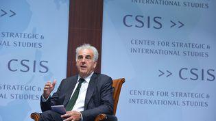 Le spécialiste du sida Michel Kazatchkine, lors d'une conférence à Washington (Etats-Unis), le 11 septembre 2014. (MANDEL NGAN / AFP)