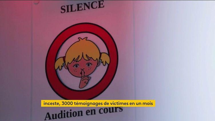 La Ciivise recuille des témoignages de victimes d'inceste (FRANCEINFO)