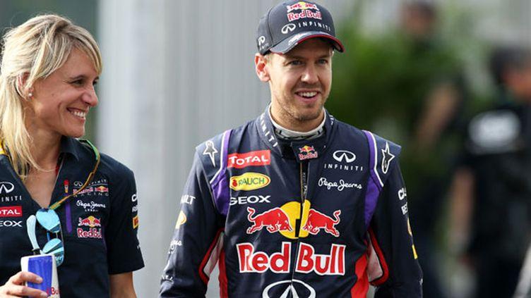 Le pilote allemand Sebastian Vettel