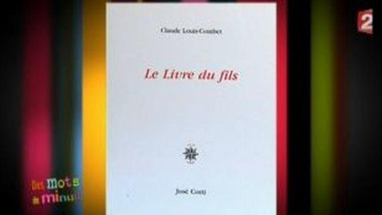 """""""Le livre du fils"""" de Claude-Louis Combet  (Culturebox)"""