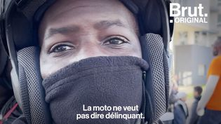VIDEO. À Sarcelles, des dizaines de motards réunis pour rendre hommage à Ibo (BRUT)