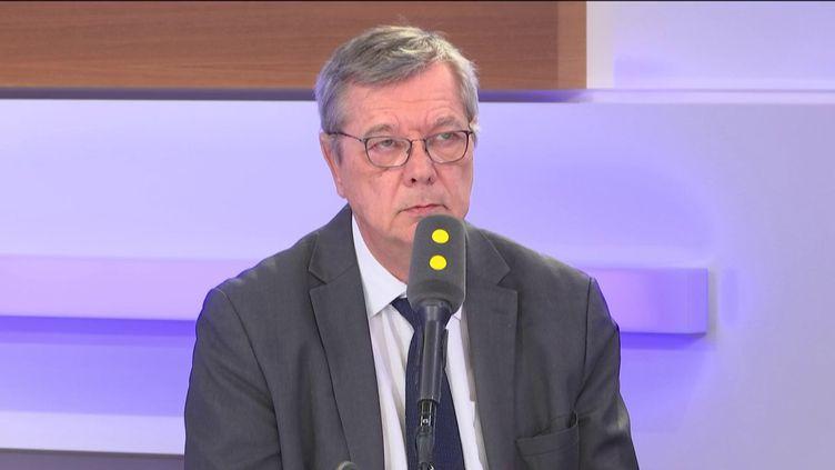 Bruno Bonnemain, invité éco de franceinfo le 27 février 2020. (FRANCEINFO / RADIOFRANCE)