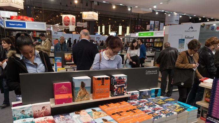 La salon Livre Paris (ici en 2017).  (Witt/SIPA)