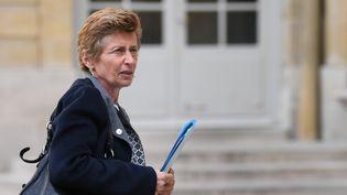 Nicole Klein, alors préfète de Loire-Atlantique, à Matignon le 25 avril 2018. (ERIC FEFERBERG / AFP)
