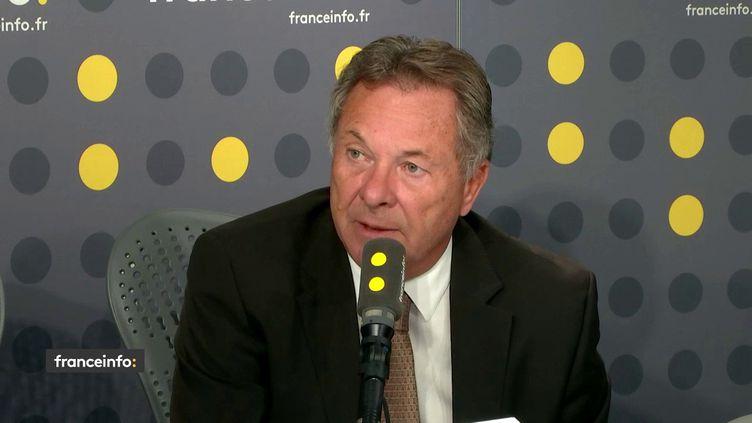 Francis Duseux, président de l'Ufip, invité de franceinfo. (RADIO FRANCE / FRANCEINFO)