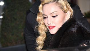 Madonna à Paris le 2 mars 2015  (CITIZENSIDE/SAÏD ANAS / citizenside.com)