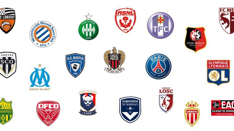 Les clubs de L1, saison 2016-2017