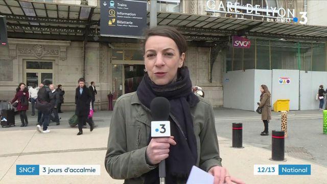 Grève SNCF : le trafic a repris à la Gare de Lyon