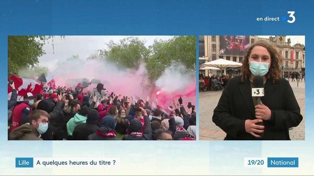 Football : le LOSC Lille croit au titre de champion de France