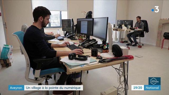 Aveyron : un village résiste à l'exode rural grâce au numérique