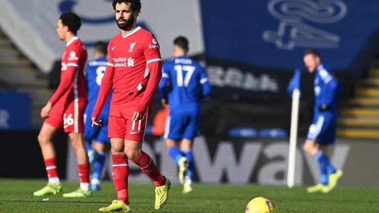 Liverpool enchaîne une troisième défaite consécutive (MICHAEL REGAN / POOL)