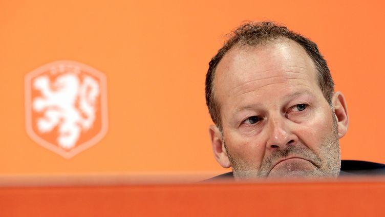 Le sélectionneur néerlandais Danny Blind est plus que jamais sur la sellette (ERIC VERHOEVEN / ANP)