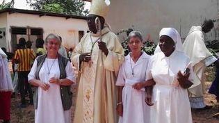 """Une religieuse franco-espagnole de 77 ans a été retrouvée assassinée dans un village de Centrafrique, où elle venait en aide à de jeunes filles. Aucune revendication n'est pour l'instant parvenue, mais le Vatican évoque un crime """"barbare"""". (CAPTURE D'ÉCRAN FRANCE 3)"""