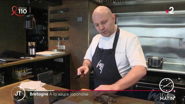 Rennes: le chef étoilé Julien Lemarié se lance dans une aventure culinaire entre Japon et Bretagne
