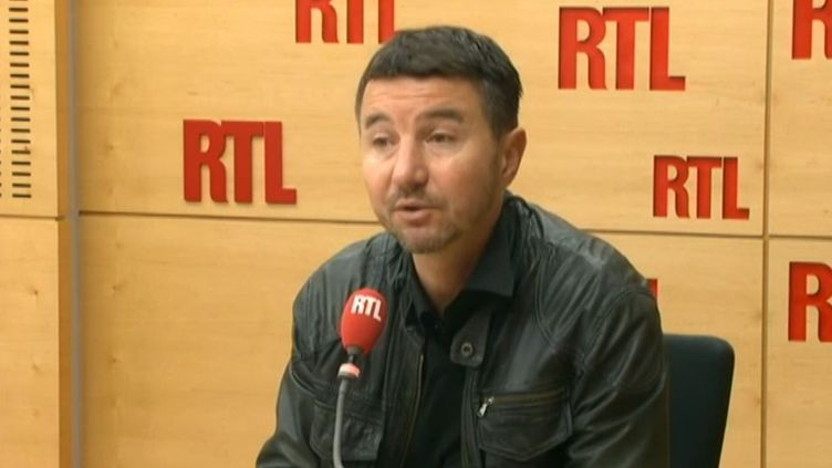 Olivier Besancenot au micro de RTL, le 3 mars 2015. (RTL)
