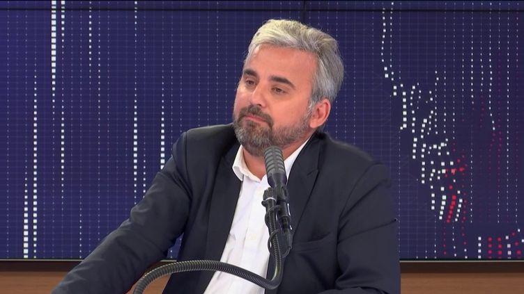 Alexis Corbière, invité de franceinfo le 1er juillet 2020. (FRANCEINFO / RADIO FRANCE)