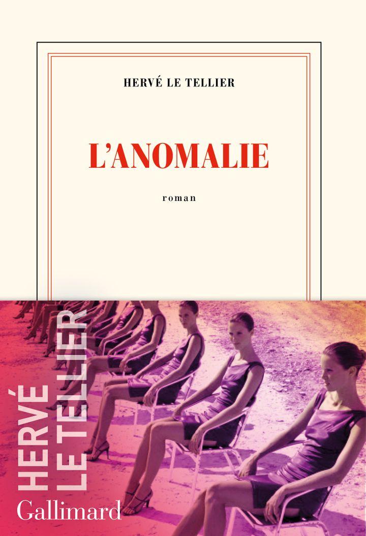 """Couverture de """"L'anomalie"""", d'Hervé Le Tellier, 2020 (GALLIMARD)"""