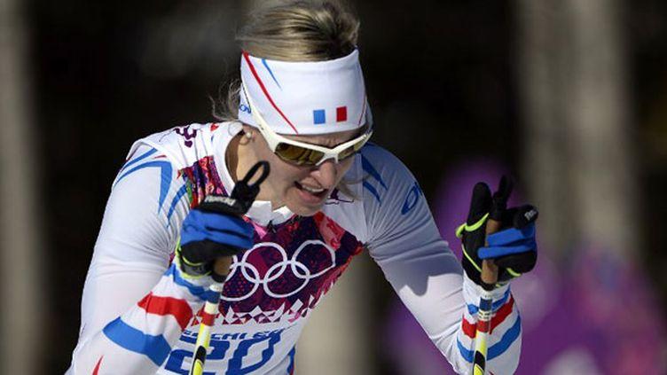 La skieuse française Aurore Jean