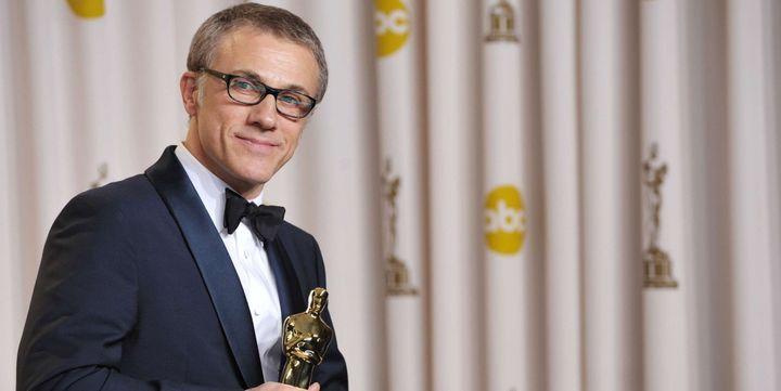 """Christoph Waltz, Oscar 2013 du Meilleur acteur dans un second rôle pour """"Django Unchained"""" de Quentin Tarantino  ( John Shearer/AP/SIPA)"""