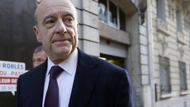 Alain Juppé, le 25 novembre 2012. (KENZO TRIBOUILLARD / AFP)