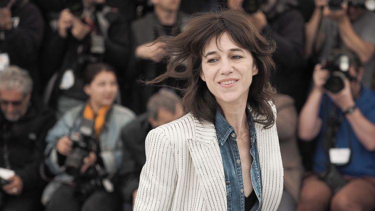 Charlotte gainsbourg au 72e festival de Cannes, 19 mai 2019 (LAURENT VU/HAEDRICH JEAN-MARC/SIPA)