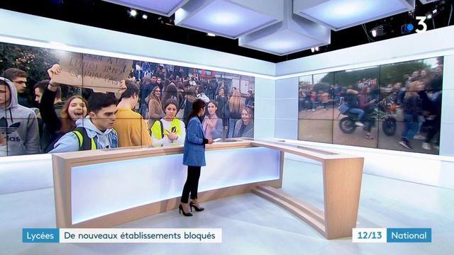 Lycée : de nouveaux établissements bloqués