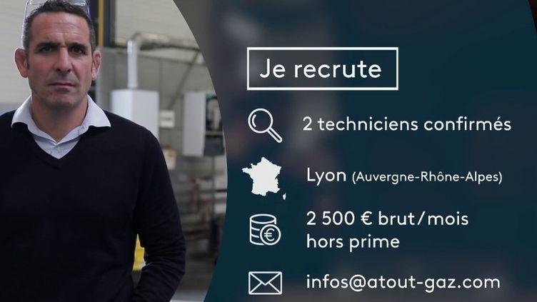 #PrioritéEmploi : PME cherche techniciens spécialisés dans l'entretien de chauffage (France 2)