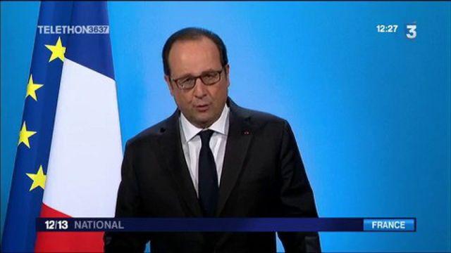 Présidentielle 2017 : François Hollande annonce qu'il ne sera pas candidat