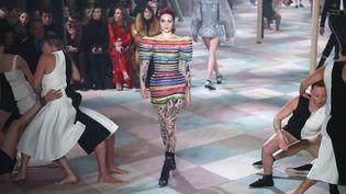 Dior haute couture printemps-été 2019, janvier 2019 à Paris  (Francois Mori/AP/SIPA)