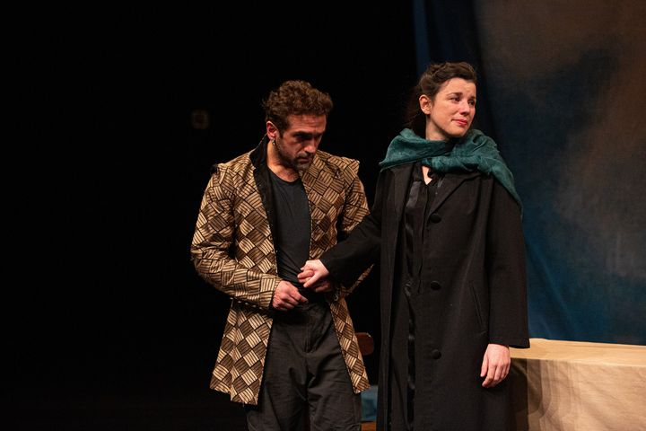 Mickaël Pinelli (Sganarelle) et Clémentine Allain (Elvire) (@MICHEL CAVALCA)
