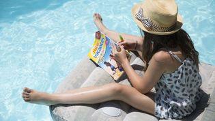 En 2014, envion 4,5 millions de cahiers de vacances ont étévendus en France, dont 3 millions entre juin et début juillet. (MAXPPP)