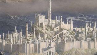 """Détail de la couverture de""""La Chute de Gondolin"""", qui va être publié par HarperCollins. (HARPERCOLLINS)"""