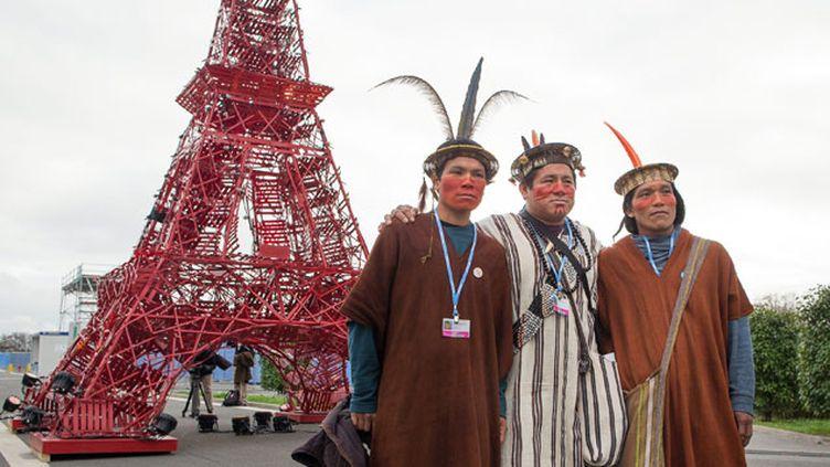 (Ouverture de la Conférence des Nations Unies sur les changements climatiques 2015 COP21 au Bourget © MaxPPP)