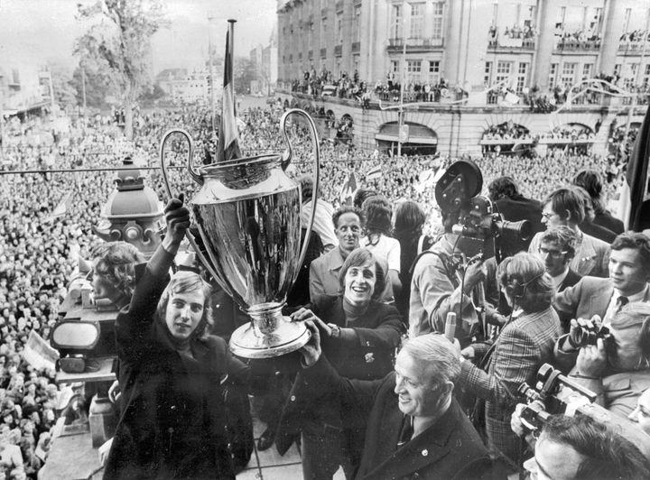Johan Cruyff, le 3 juin 1972, à Amsterdam.