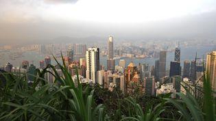 Honk Kong et ses buildings. (STEPHANE FRANCES  / ONLY WORLD)
