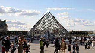 Le musée du Louvreproposeà partir du 29 mars une rétrospective d'Eugène Delacroix (1798-1863), la première à Paris depuiscinquante-cinq ans. (LUDOVIC MARIN / AFP)