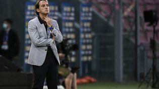 L'arrivée sur le banc de la Nazionale de Roberto Mancini en mai 2018 a remis l'Italie sur les bons rails. (FILIPPO MONTEFORTE / AFP)