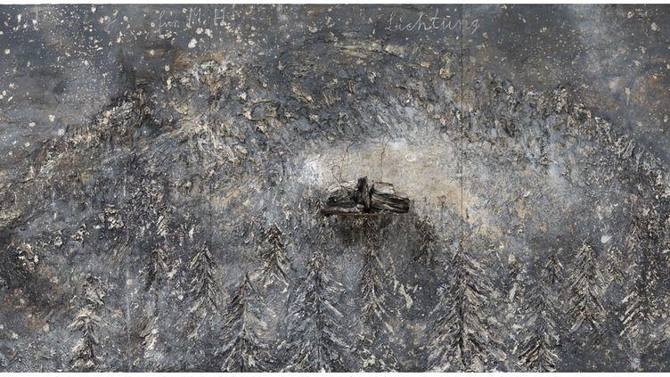 """Anselm Kiefer, """"Lichtung"""" (Clairière), 2015, collection particulière  (Anselm Kiefer - photo © Georges Poncet)"""