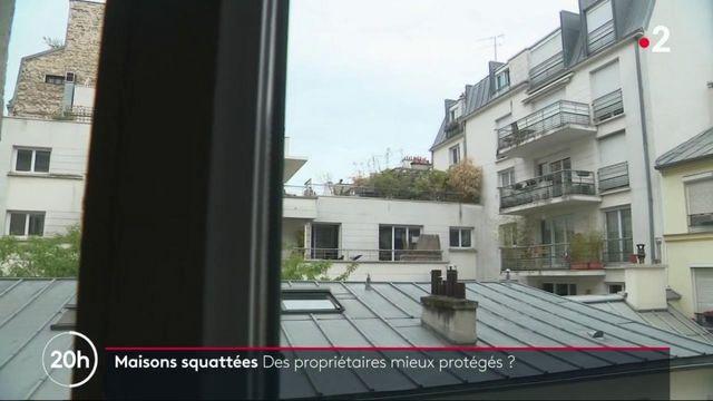 Maison squattées : des propriétaires mieux protégés ?
