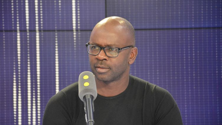 L'ancien international français Lilian Thuram. (JEAN-CHRISTOPHE BOURDILLAT / FRANCE-INFO)