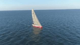 Long de 18 m, le bateau a été construit au début des années 1990. (France 3)