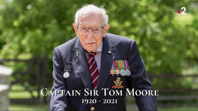 Covid-19 : le héros centenaire Sir Tom Moore est décédé
