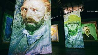 """L'exposition """"Imagine Van Gogh"""" actuellement au Havre avait été présentée en 2017 à la Grande Halle de la Villette (NICOLAS SERVE  LE PARISIEN / MAXPPP)"""