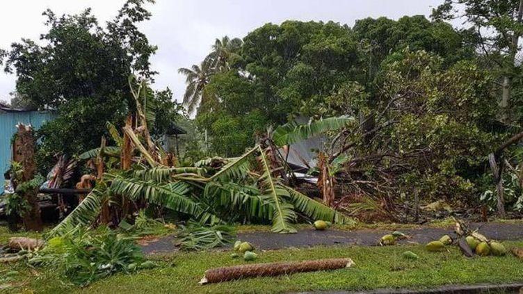 Les alertes cycloniques ont été levées mardi matin en Nouvelle-Calédonie où le cyclone Cook. (SHEDYSONG CAIHÉ/LA 1ERE)