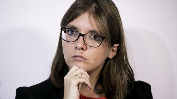 Aurore Bergé estdéputée LREM des Yvelines et porte-parole du groupe LREM à l'Assemblée. (VINCENT ISORE / MAXPPP)
