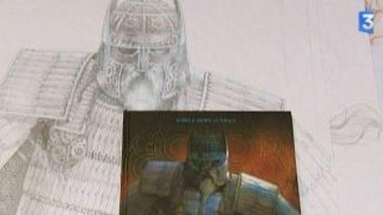 """""""Odin"""" BD signée Erwann Seure Le Bihan et Nicolas Jarry  (Culturebox)"""
